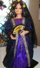 Spanish Doll Purlpe Grown 1995 By Lori Ladd