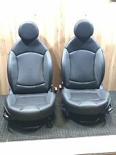 2007-2013 Mini Cooper Front Seats Left and Right Heated Leather Freight Shipping