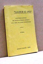 GAUDIUM ET SPES [Libro, Edizioni Paoline - Roma,Collana Il Pastore che ci guida]