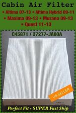 C45871 Cabin Air Filter for Nissan 07-12 Altima, Maxima, Murano US Seller!!!