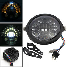 """7"""" Round LED Projection Headlight Kit For Harley 1994-2013 Touring Most Bike"""