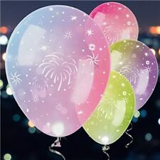 LED Fireworks Latex Balloons 11""