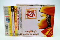 SWEETBOX - EVERYTHING'S GONNA BE ALRIGHT BVCP-4901 JAPAN CD OBI B#2291