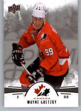 Carte collezionabili hockey su ghiaccio Wayne Gretzky