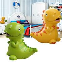 Children's Cartoon Piggy Bank Lovely Dinosaur Shaped Resin Coin Bank Saving Pot