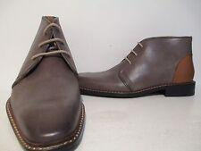Giorgio Brutini Mens 24927 Thornton Leather Ankle Dress Boot Grey/ Tan Size 10 M