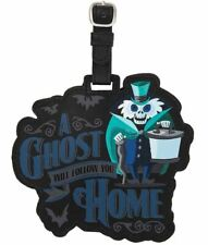 Disneyland Haunted Mansion Hatbox Ghost A Ghost Will Follow You Home Luggage Tag