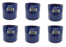 Six (6) GM ACDelco  Engine Oil Filter Bulk-Pack PF454 PF454F 25324052 89028862