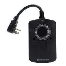 Intermatic Light Sensor Outdoor Plug In Outlet Timer Programmable Dusk to Dawn