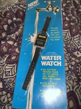 "Mint In Package Sealed. Vintage H2O Medena WATER Watch ""runs using Water"""