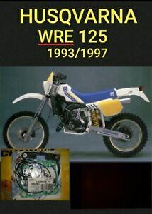 HUSQVARNA WRE 125 1993/1997 JUEGO JUNTAS ATHENA P400220600127