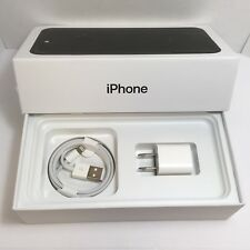 IPHONE 7+ Plus  EMPTY RETAIL BOX AND NEW ACCESSORIES plug charger manual sim