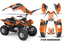 ATV Graphics Kit Quad Decal Sticker Wrap For Yamaha Raptor 80 02-08 WARHAWK ORNG