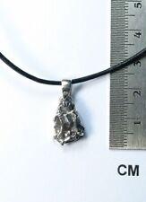 Meteorit Campo del Cielo / Anhänger / Sterlingsilber 925  / Sternschnuppe / neu