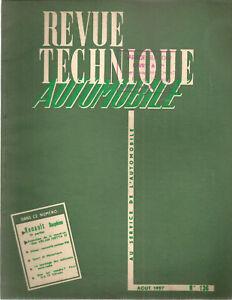 REVUE TECHNIQUE AUTOMOBILE 136 RTA 1957 RENAULT DAUPHINE (2) EVO ISETTA VELAM 57