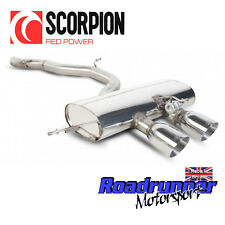 """Scorpion Golf R MK6 Exhaust System 3"""" Stainless Cat Back Non Res LOUDER SVWS038"""
