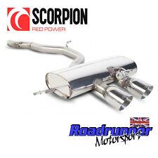 """SCORPION GOLF R MK6 Sistema di scarico 3"""" INOX Cat Indietro Non Res più forte svws 038"""