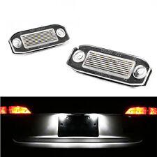 Lighting Plate LED Volvo V50 V70 White Xenon Lights Rear Registration