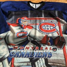 Rare Montreal Canadiens Vintage CCM Goalie Front & Back Jersey