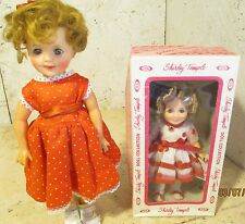 Vintage Shirley Temple Dolls Lot Of (2) Dolls By Ideal Toys