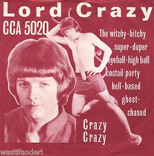 CCA 5020 Lord Crazy & The Safaris - Rare German Beat Single - 1966 - MINT
