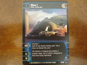 Star Wars TCG R&S Slave I (E) FOIL 63/105