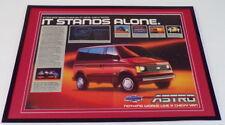 1985 Ford Astro Van 12x18 Framed ORIGINAL Advertising Display
