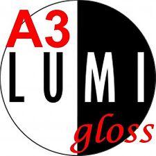500 sheet 250 gsm A3 LUMI GLOSS 2 SIDED PRINTER PAPER / CARD - LASER DIGITAL