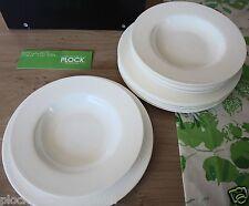 ROSENTHAL Jade weiß Bone China 12 tlg. Tafel Set, Speise Set  für 6 Pers. 18339