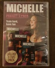 Michelle Bridges: Project 3 Pack (Extreme / Ripped / Shape-Up) New and sealed