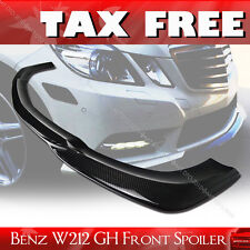 STOCK IN USA ▶ Carbon Mercedes Benz W212 Godhand 4DR Front Lip Bumper Spoiler