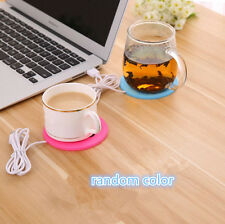 Electric USB Tea Coffee Drink Warmer Gadget Rapid Mug Beverage Cup Heat 50-60℃