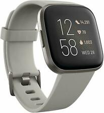 Fitbit Versa 2 Activity Tracker - Stone/Mist Gray