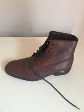 MEN AUTOGRAPHY LEATHER CHELSEA ANKLE BOOTS SIZE UK 6.5