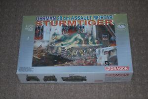 Dragon 1/72 German WWII Sturmtiger Assault Tank