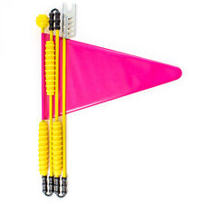 Fahrradwimpel Fahrradfahne Sicherheitswimpel Kinderfahrrad 160cm pink