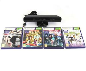 Microsoft Xbox 360 Kinect With 4 Games Including Fitness Trainer and Dance