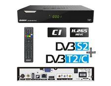 Edision PICCOLLO 3in1 HD Combo Receiver H.265 / HEVC DVB-S2, DVB-T2, DVB-C