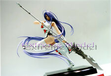 1/6 Ikkitousen Kan-u Unchou Chinese Dress & Halbert Unpainted Resin Model Kit