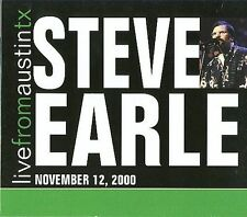 Live from Austin TX November 12, 2000 [Digipak] by Steve Earle (CD, Sep-2015,...