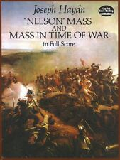 Haydn Nelson Mass In Time Of War Full Score Play Vocal Orchestra Music Book