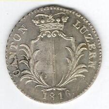 Luzern 5 Batzen 1816 (HMZ 643) - fast unzirkuliert