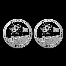 2013 S Fort McHenry MD National Parks ATB ~ Silver & Clad Mint Proof Coin Set