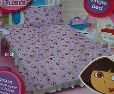 Dora The Explorer Purple Single Bed Quilt Cover Set New *Sale*