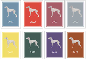 Italian Greyhound 2022 A5 Week Per View Diary NORMAL/DOG SHOW DATES/APPOINTMENT
