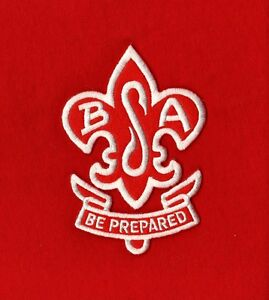 BSA SWEATER Red Jacket Patch Reproduction Boy Cub Scout Leader Uniform NEW MINT