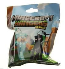 Minecraft Perchas Serie 2, ciego simple Bolsa Pack Random Llavero Llavero Figura