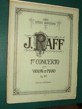 "Partitions ""1er Concerto violon piano"" Op. 161  J. RAFF"