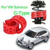 2pcs Front Shock Absorber Spring Bumper Power Cushion Buffer For VW Scirocco