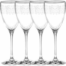 Noritake Odessa Platinum Wine Glasses, Set of 4
